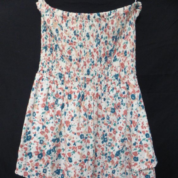 ROXY, small, strapless dress, stretchable elastic